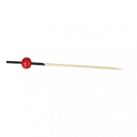 Pique en bambou naturel Kita 70 mm
