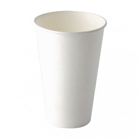 Gobelet carton blanc 450ml
