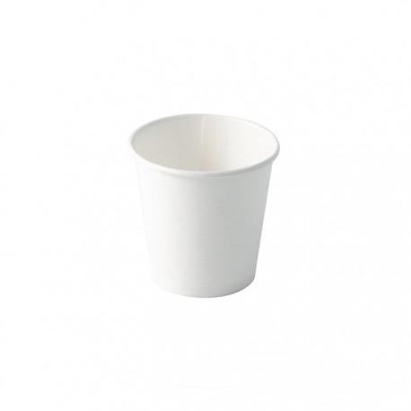 Gobelet carton blanc 120ml