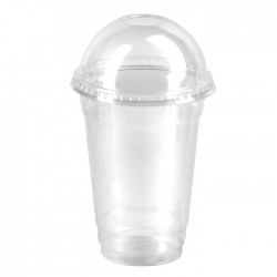 Gobelet ou coupe dessert PET transparent 300ml