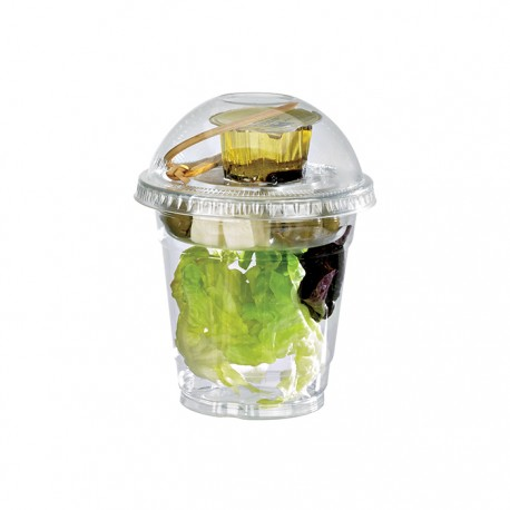 Gobelet ou coupe dessert PET transparent 325ml