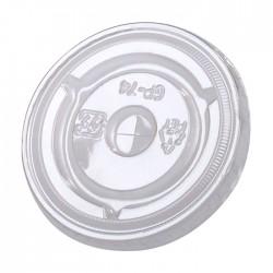 Couvercle plat avec croisillon 74mm de diamètre