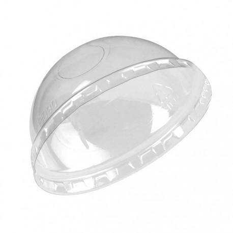Couvercle dôme avec trou 90mm de diamètre