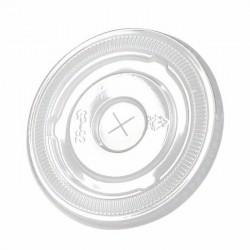 Couvercle plat avec croisillon 95mm de diamètre