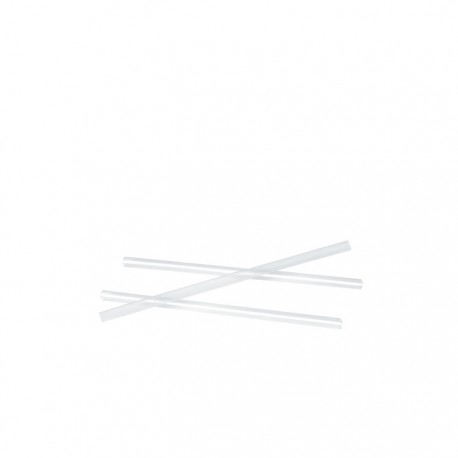 Mini chalumeaux transparents