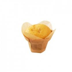 Caissette de cuisson silicone marron forme lotus 120ml