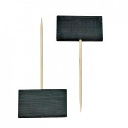 """Pique bambou noir """"tikon"""""""