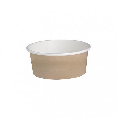 Pot en carton avec impression Kraft 16 Oz / 480 ml