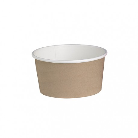 Pot en carton avec impression Kraft 20 Oz / 600 ml