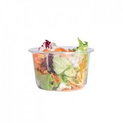 Pot rond en PLA 450 ml / biodégradable / compostable