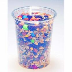 Pot rond en PLA 900 ml / biodégradable / compostable