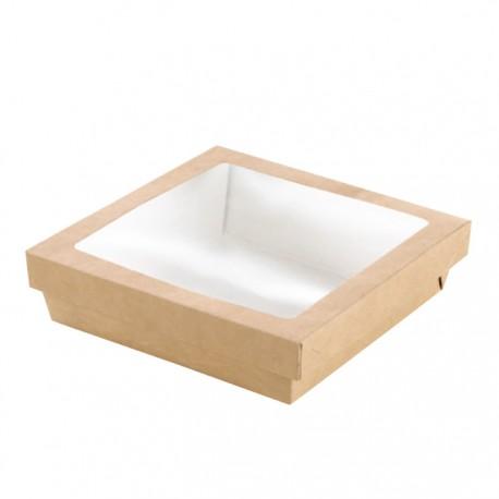 Boîte en carton brun avec fenêtre 500 ml