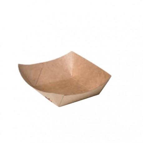 Barquette en carton kraft 100 ml