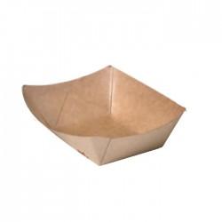 Barquette en carton kraft 220 ml