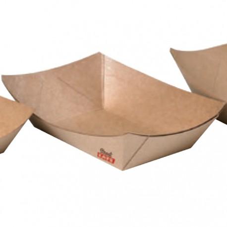 Barquette en carton kraft 400 ml