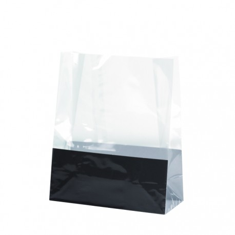 Sac bloomer en PP recyclable transparent petit