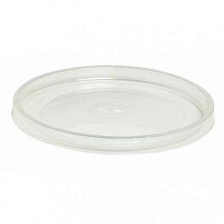 Couvercle pour pot à soupe recyclable 8 et 12 Oz