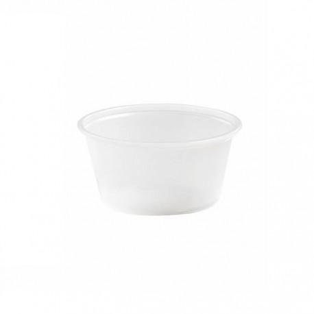 Pot à sauce translucide 60ml