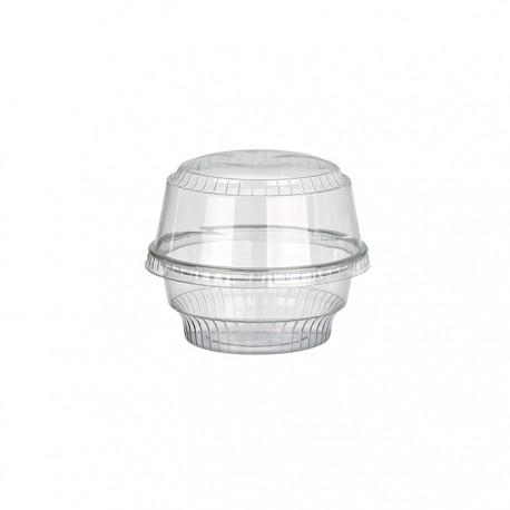 Coupe à desserts transparente en PET 6 OZ/ 170 ml