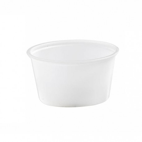 Pot à sauce translucide 120ml