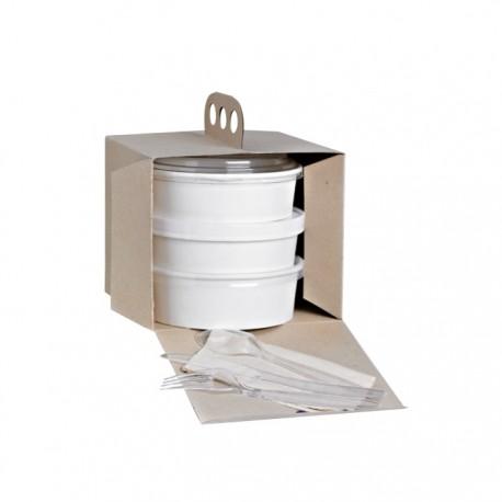 Boite à emporter carton kraft brun