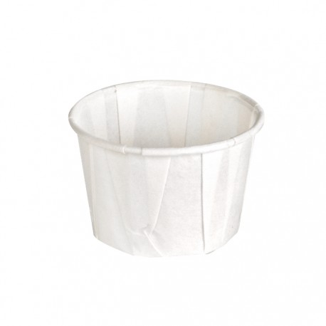 Pot à sauce en papier plissé 35ml