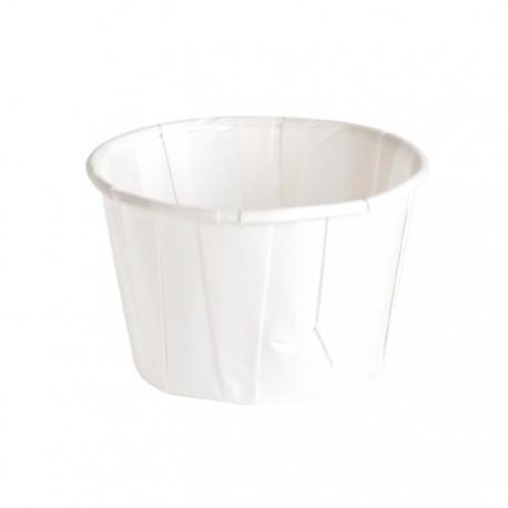 Pot à sauce en papier plissé 60ml