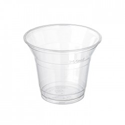 Gobelet transparent en PLA 220 ml / 8 Oz