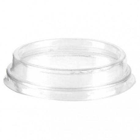 Couvercle transparent en PLA 76 mm
