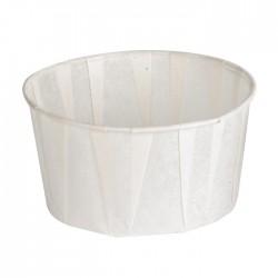 Pot à sauce en papier plissé 165ml