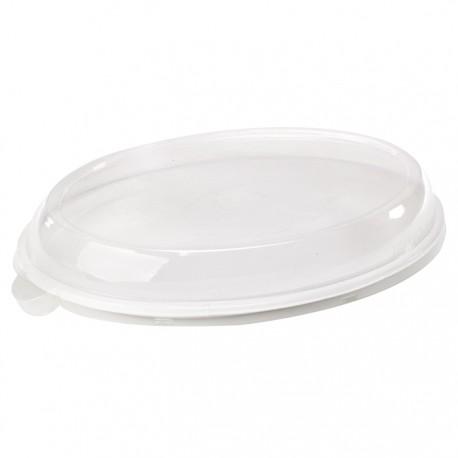 Assiette canne à sucre ovale 180x250 mm