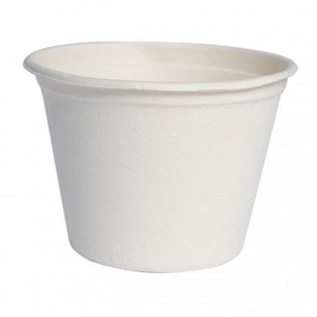 Gobelet canne à sucre 140 ml blanc / 4 Oz