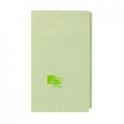 Serviette écrue 100% recyclée 2 plis / 400x400 mm