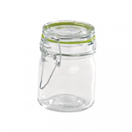Mini bocal en verre 150 ml avec fermeture hermétique métalique