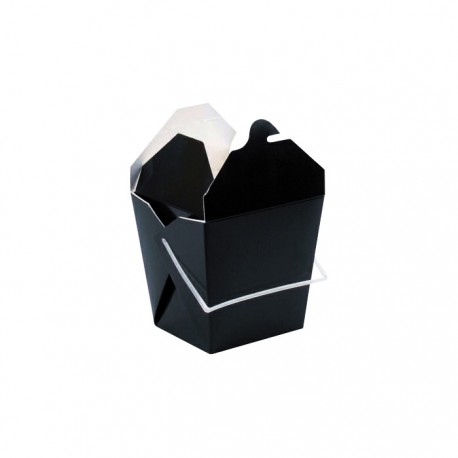 Pot à pates noir avec anse