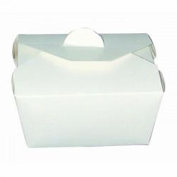 Boîte à repas bio blanche 600ml