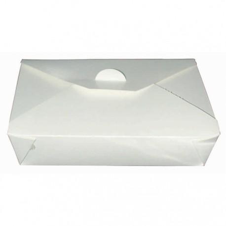 Boîte à repas bio blanche 1000ml