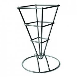 Support metallique noir pour les cônes
