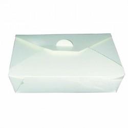 Boîte à repas bio blanche
