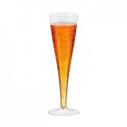 Flûte à champagne en plastique 140ml