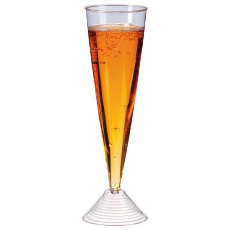 Flûte à champagne en plastique 130ml