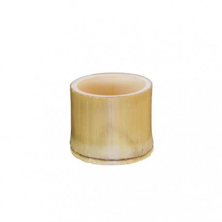 Cup en tube de bambou naturel 44 ml