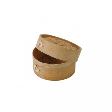 Mini panier cuiseur vapeur en bambou naturel 88 ml