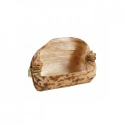 Mini panier en feuille de bambou diam 55 mm