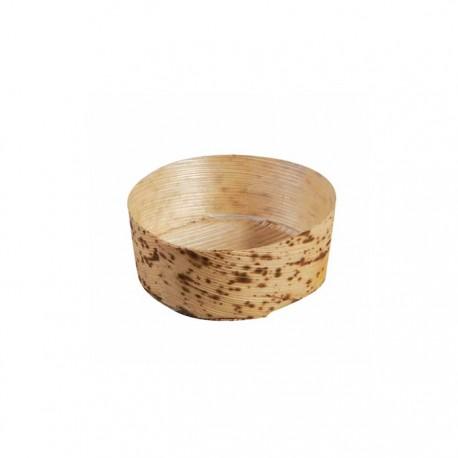 Mini panier en feuille de bambou diam 65 mm