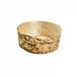 Coupelle en feuille de bambou 80 ml