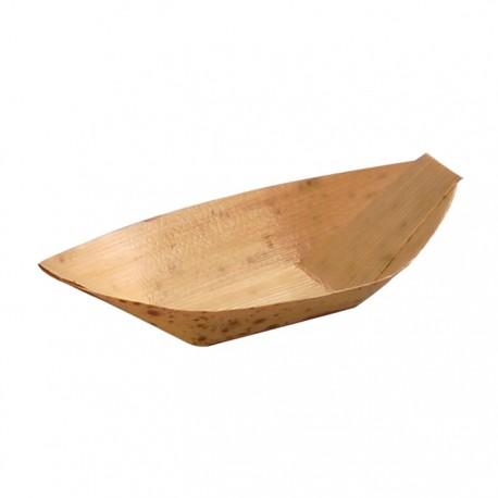 Jonque en feuille de bambou naturel 90x60x13 mm