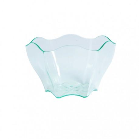 Mise en bouche coupelle fleur transparente 90ml