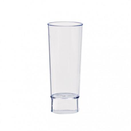 Mise en bouche transparente d'une contenance de 3oz