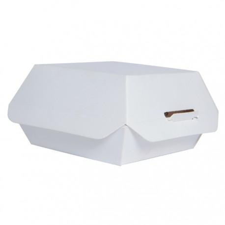 Petite boite à burger blanche